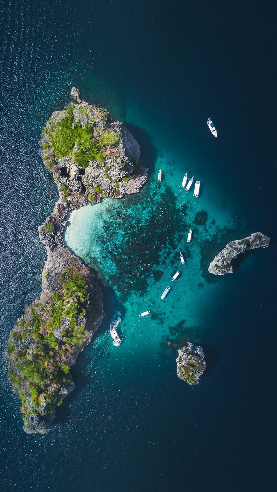 Island Wallpaper – Nature, Sea, Mountain, Island Wallpapers Free Download