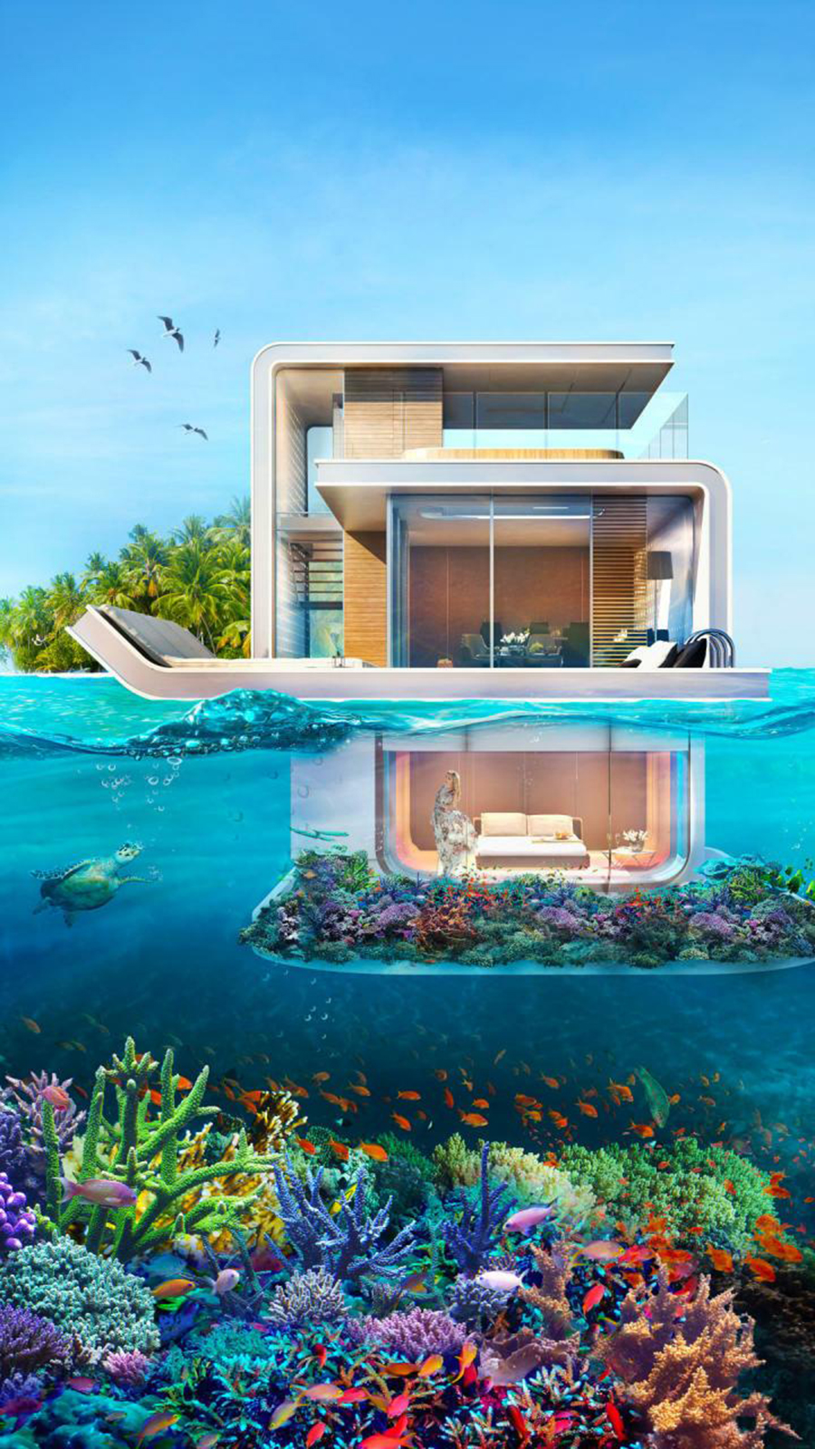 Luxury, Design, Villa, Triplex House Wallpapers Free Download