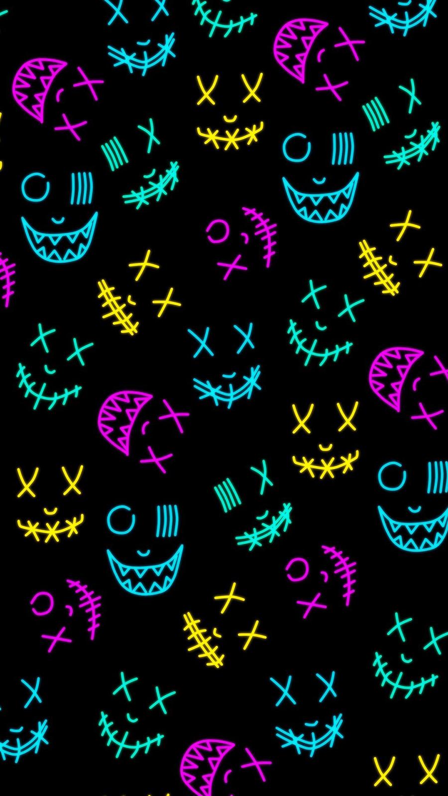 Neon Smile Wallpapers – Smile Wallpaper Free Download
