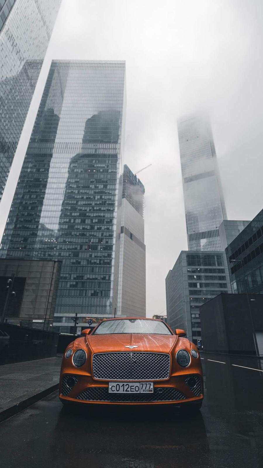 Orange Luxury Car Wallpapers Free Download