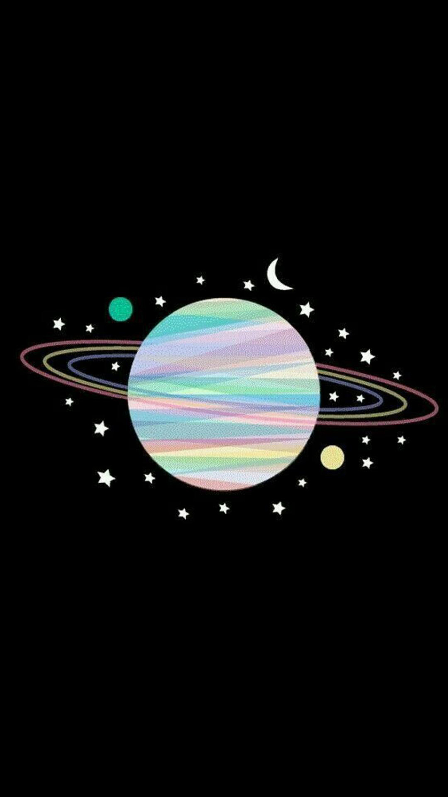 Rainbow Planet Wallpaper – Planet Wallpapers Free Download