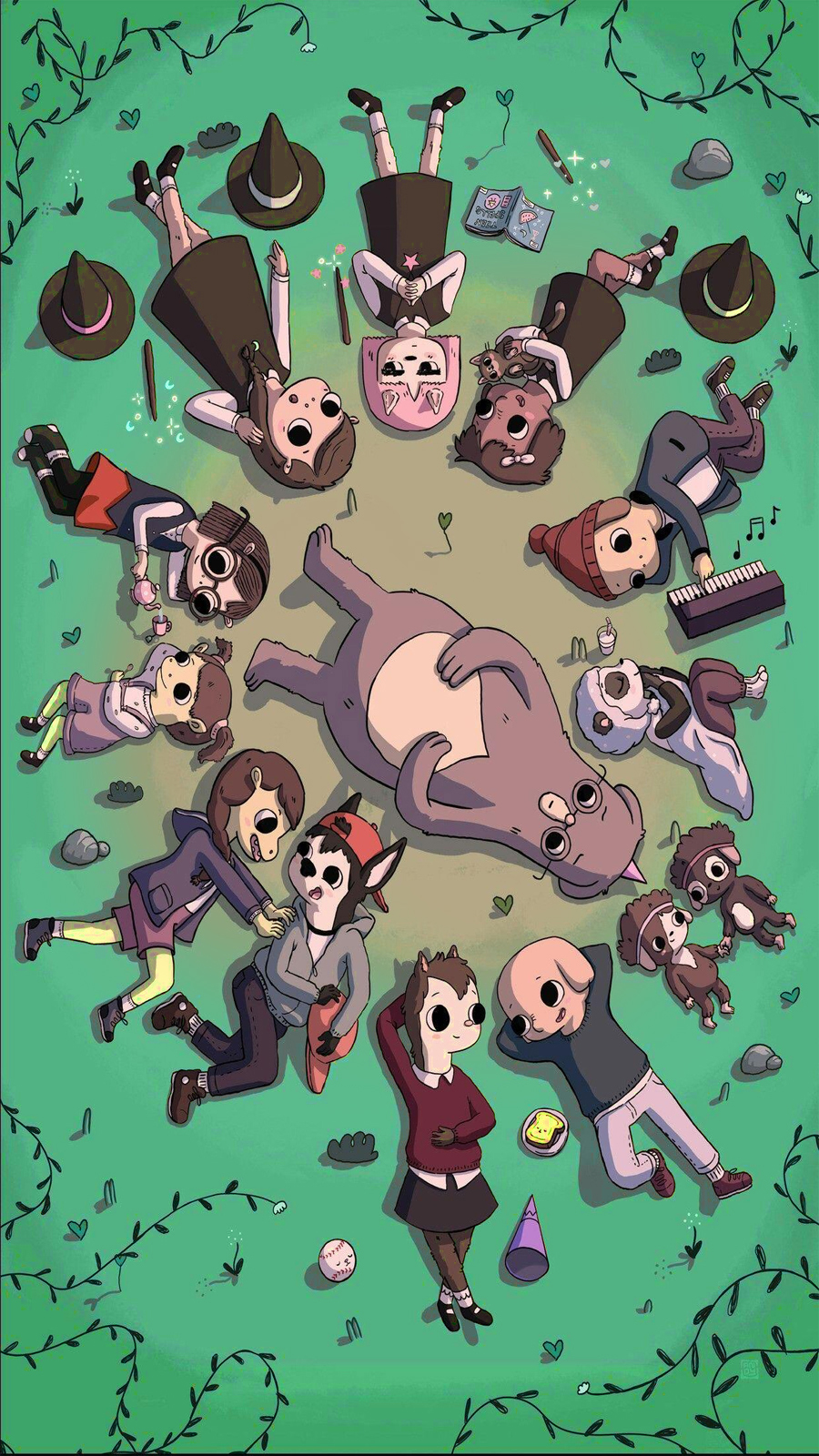 Summer Camp Island Wallpapers Free Download
