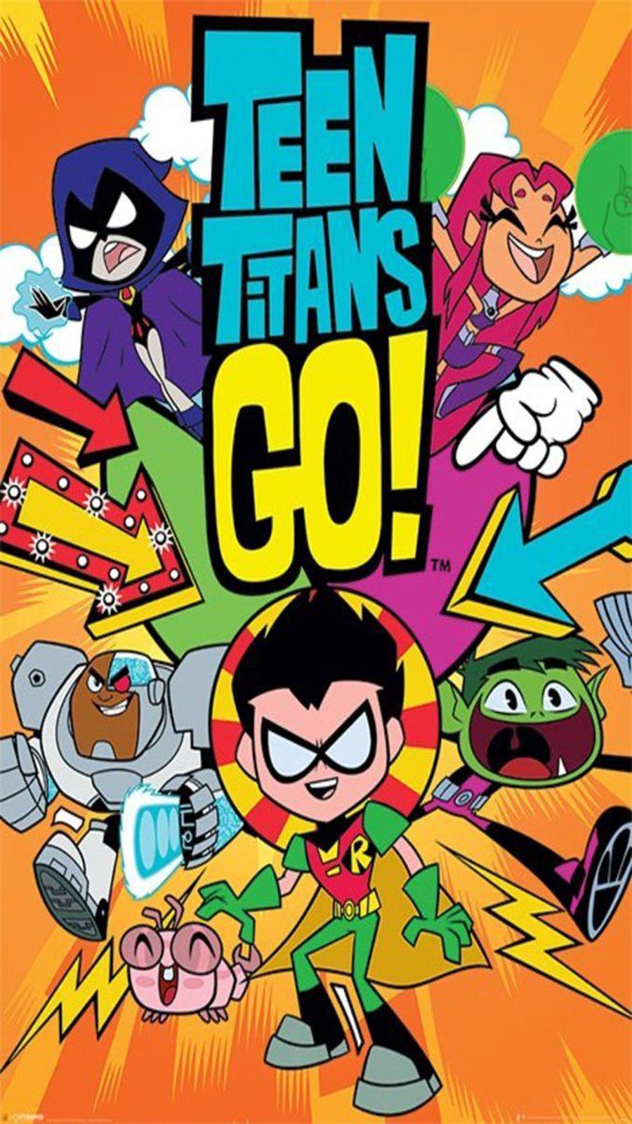 Teen Titans Go Wallpaper For Mobile – Cartoon Wallpapers