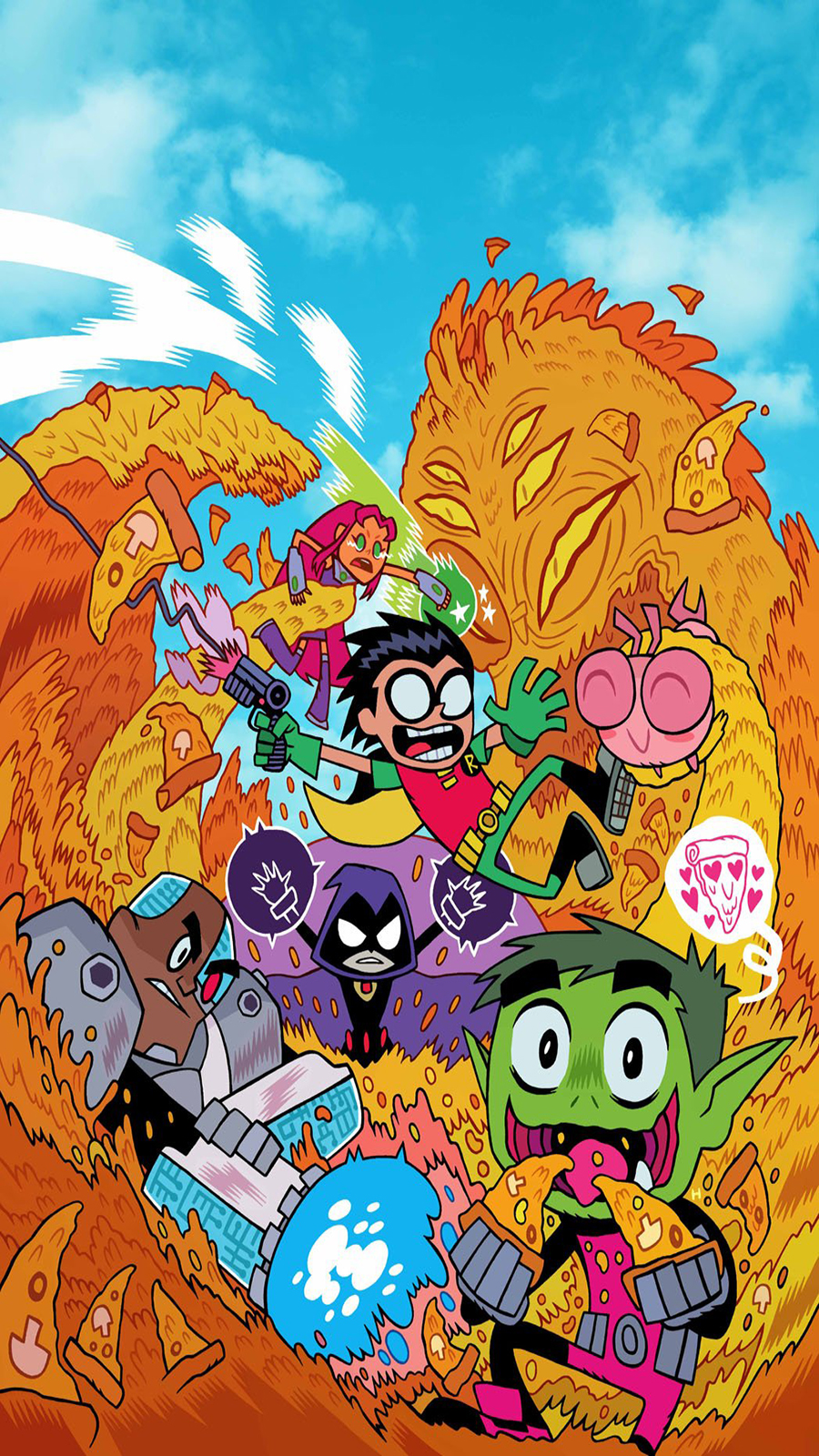 Teen Titans Go Wallpaper For Phone Free Download