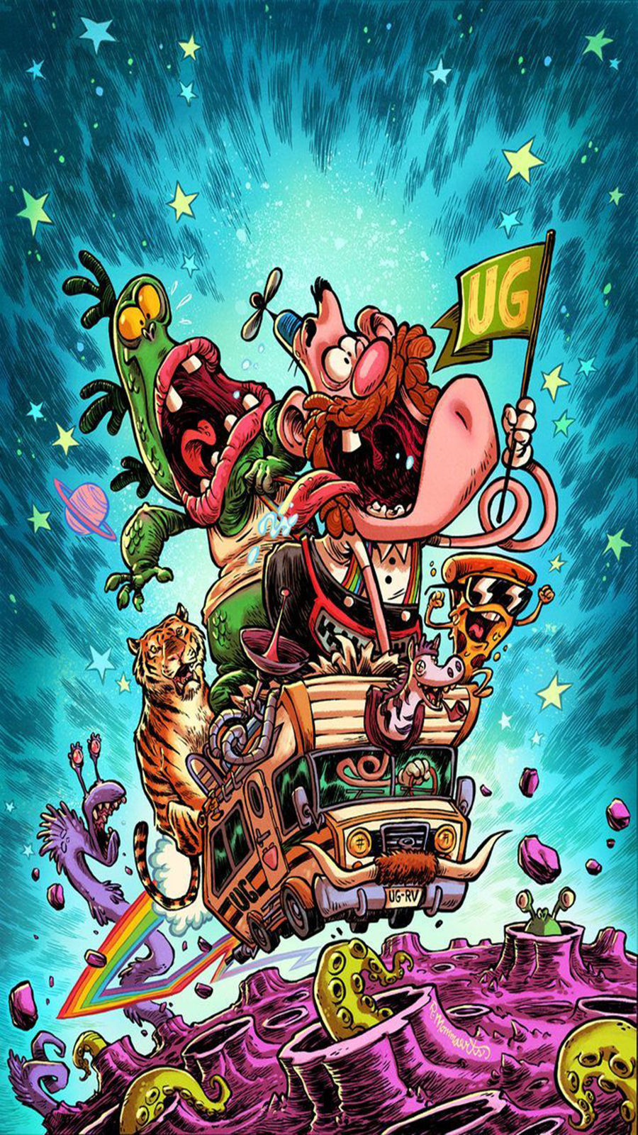 Uncle Grandpa Wallpapers Free Download