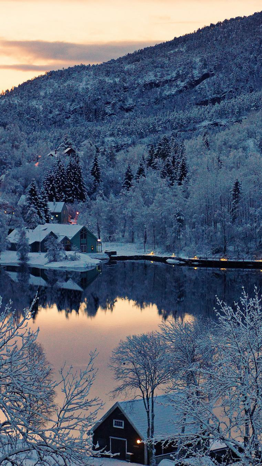 Winter Lake Wallpapers – Nature Wallpapers Free Download