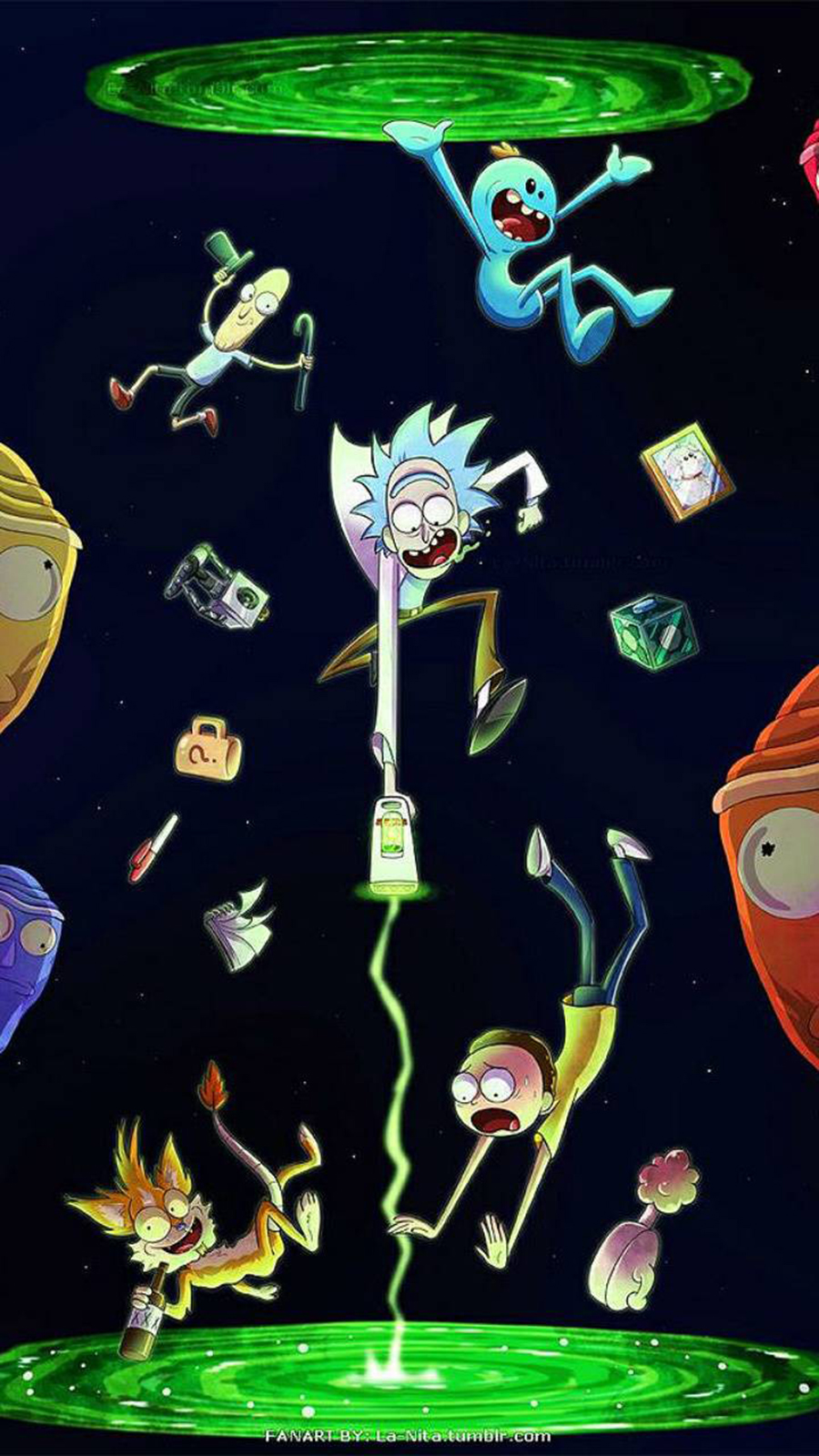 Cartoon Rick and Morty Wallpapers Now Download For Your Device