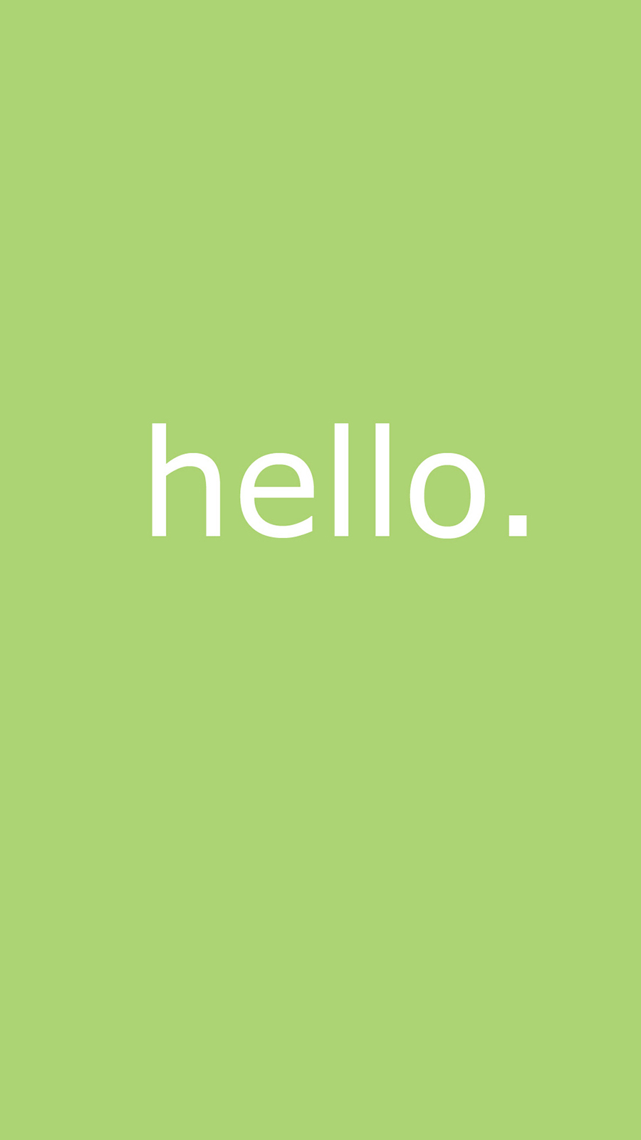 Cute Simple Hello HD Wallpapers Free Download