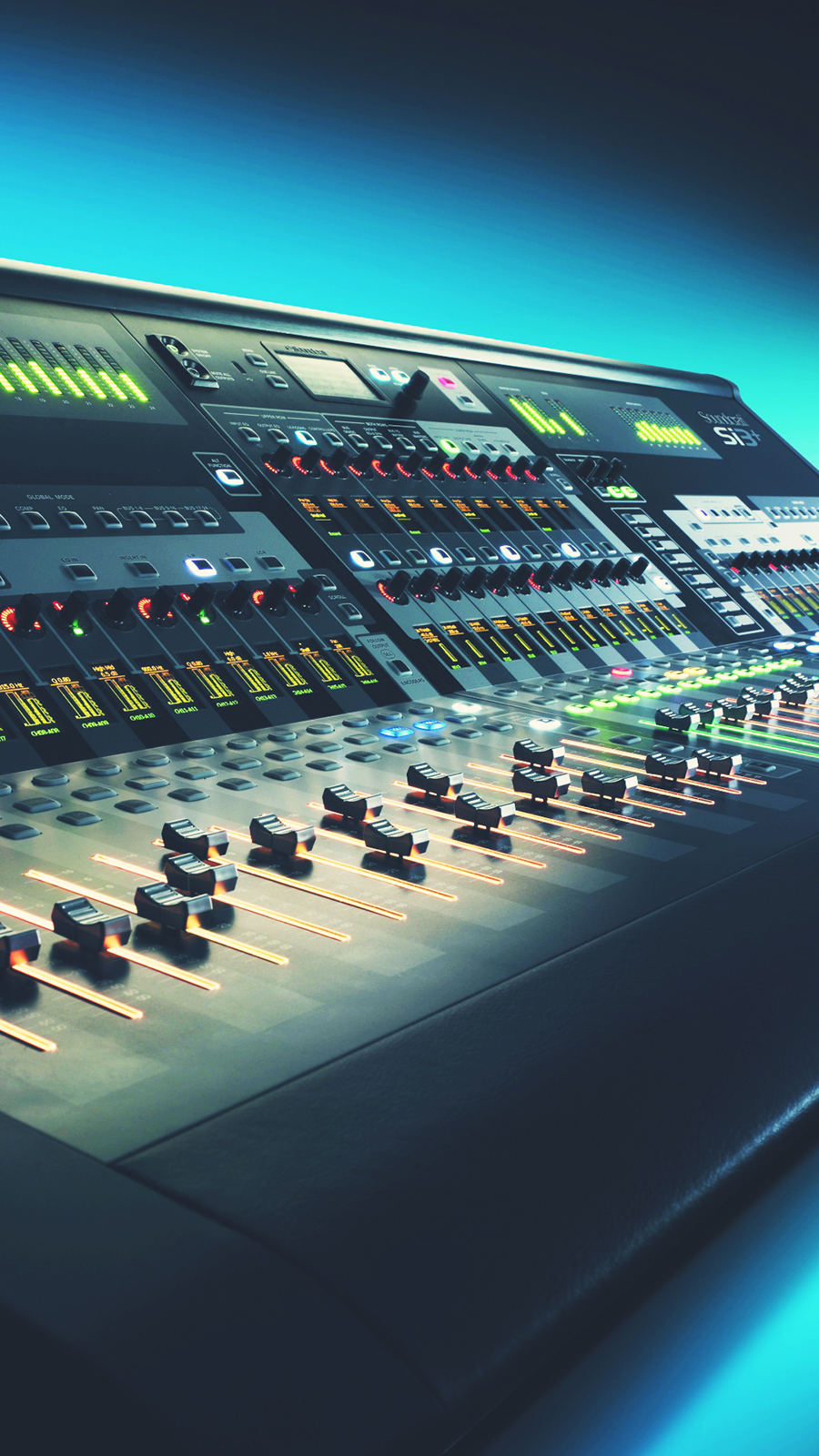 Digital Mixing Console HD Wallpapers Free Download