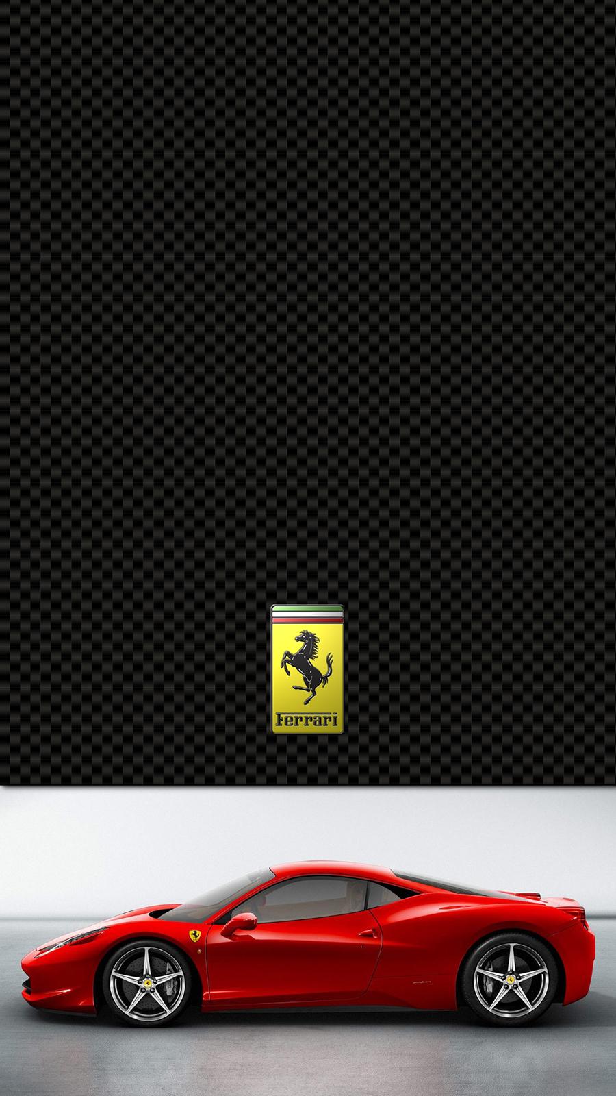 Ferrari 458 Italia Lockscreen Wallpapers Free Download For Mobile & Desktop