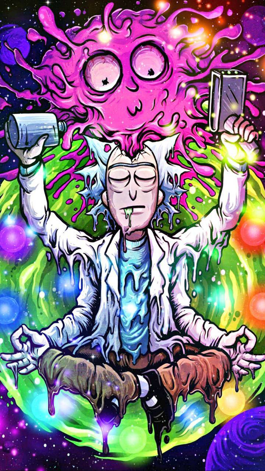 RICK & MORTY Art Wallpapers Free Download For Your Device