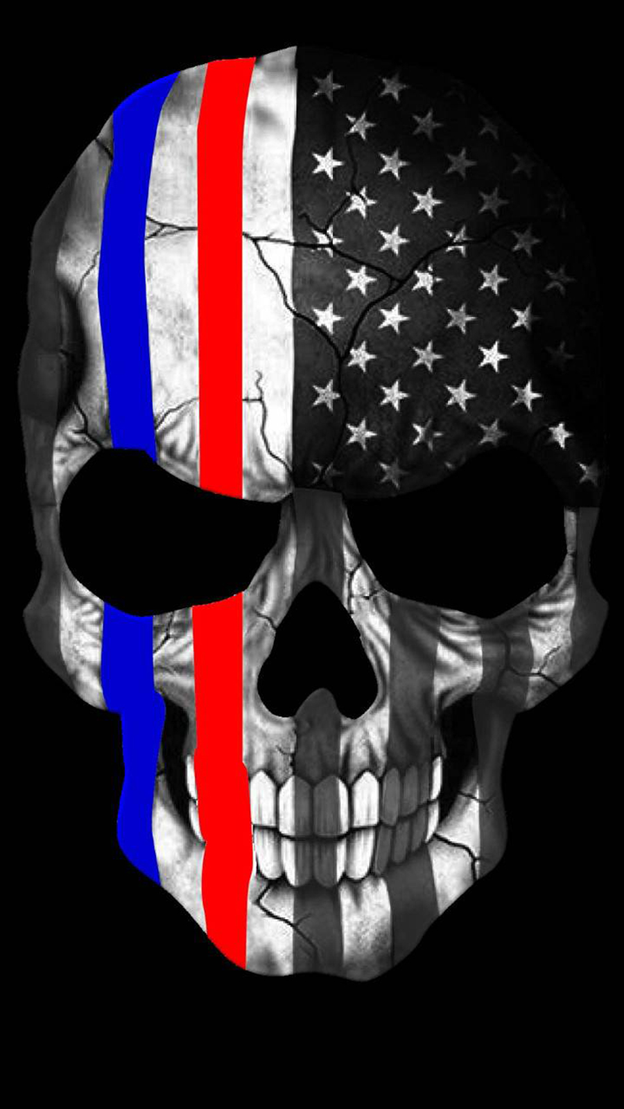 Red & Blue Punisher Wallpapers Free Download For Your Device