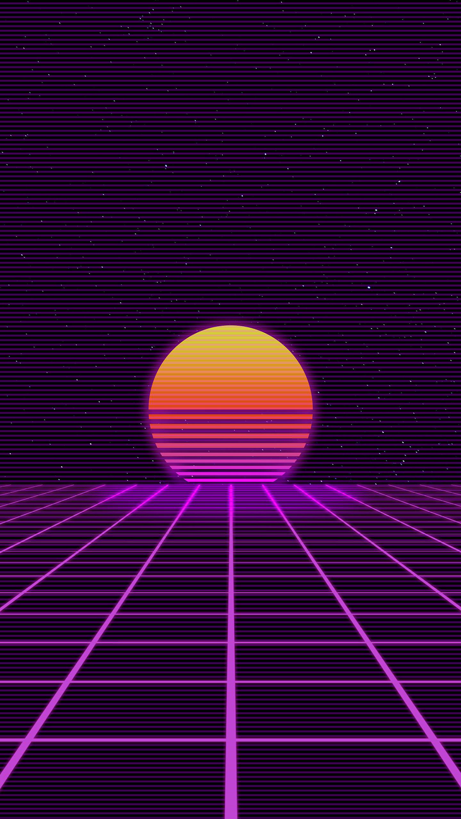Retro Sunset Art Wallpapers Free Download For Your Device