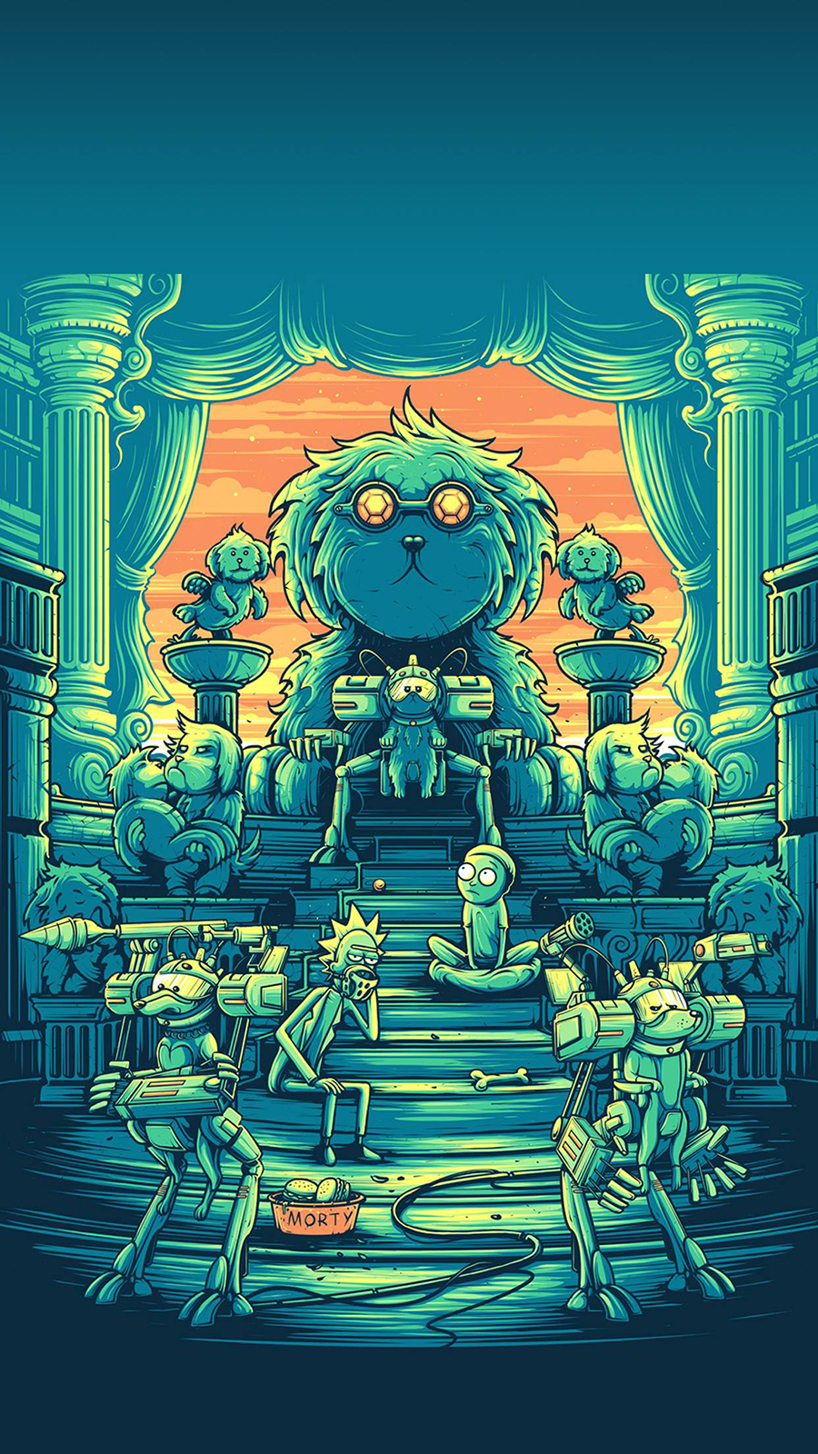 Rick & Morty Art Wallpapers Now Download For Your Device