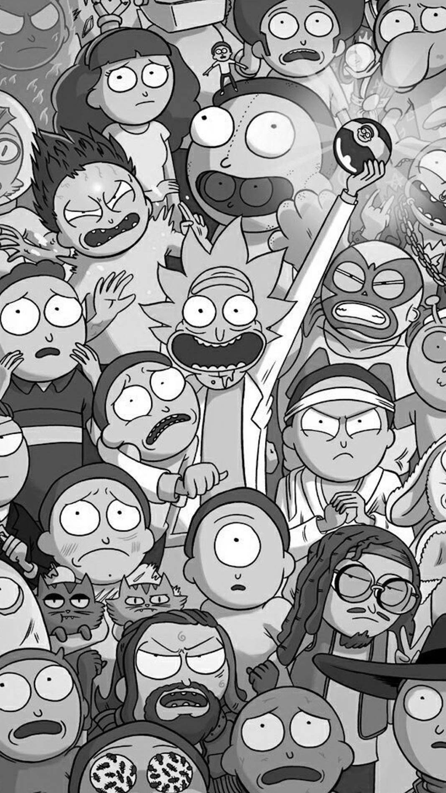 Rick & Morty Cartoon Character Wallpapers Free Download For Your Device