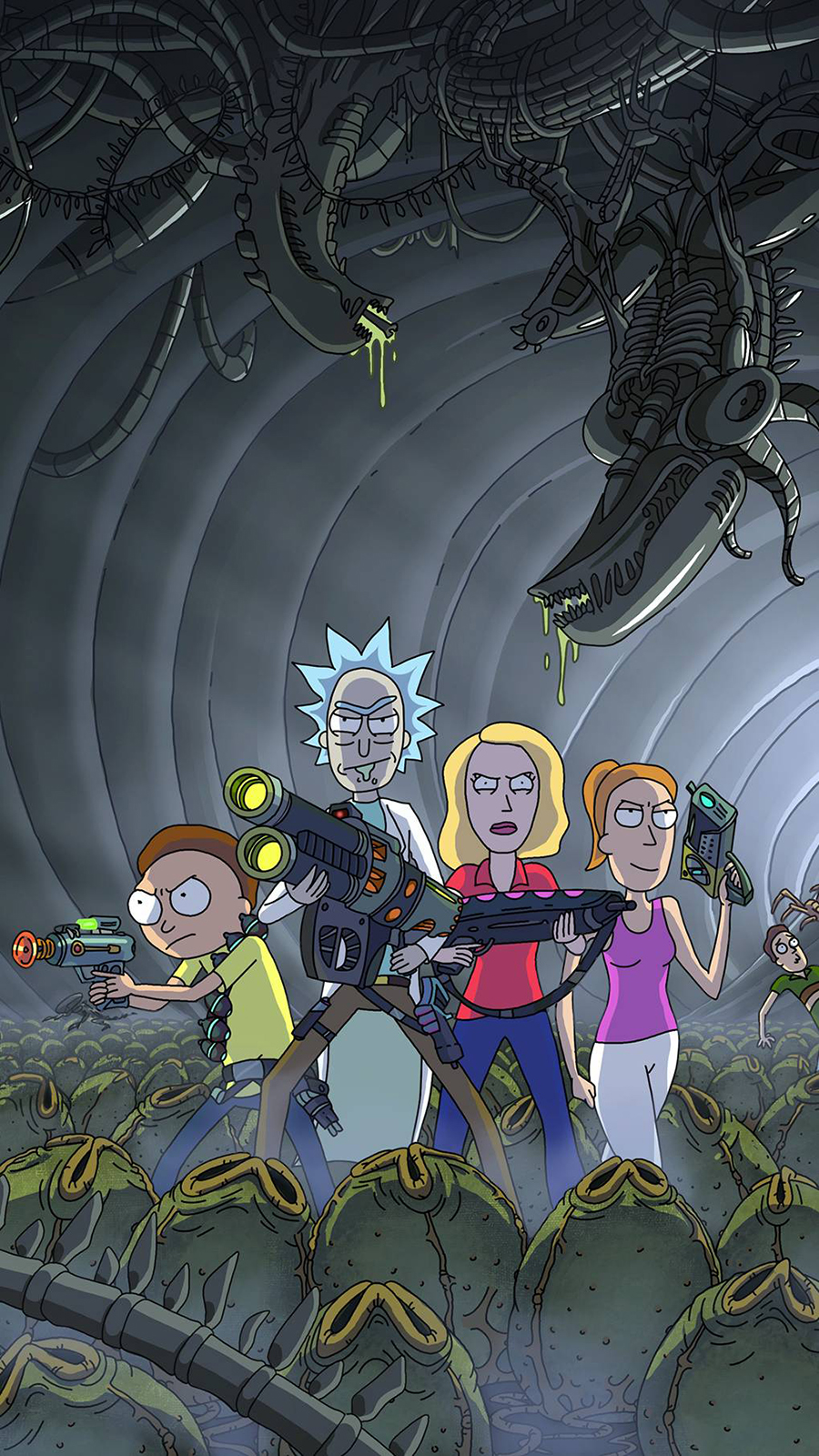 Rick & Morty Cartoon Wallpapers Now Download For Your Device