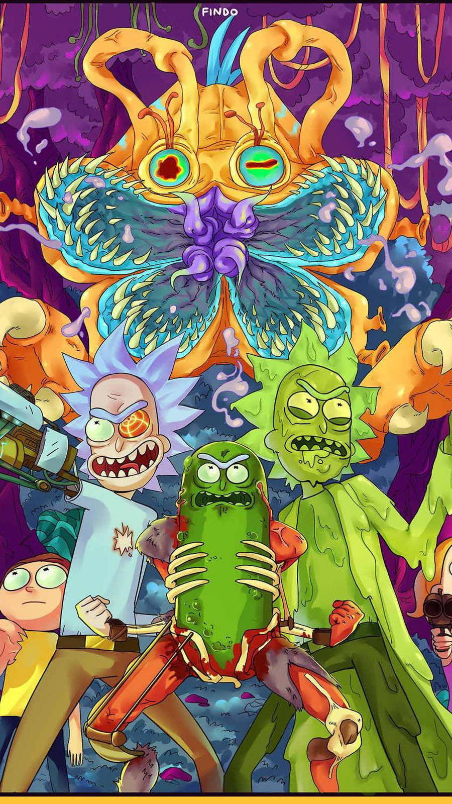 Rick & Morty, Monster Wallpapers Free Download For Your Device