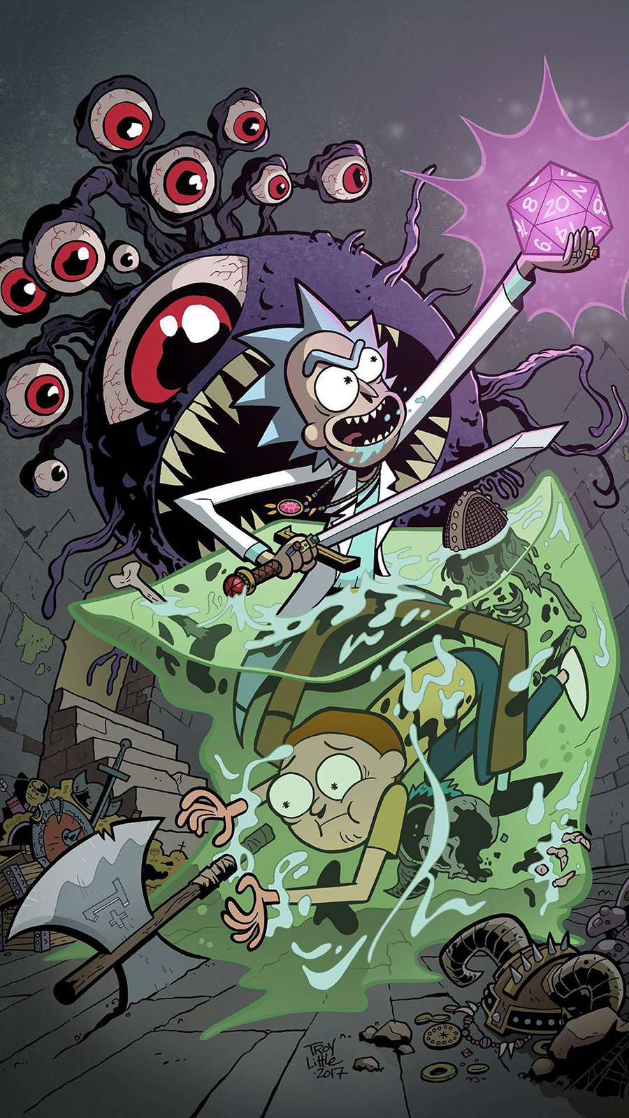 Rick & Morty Monster War Wallpapers Now Download For Your Device