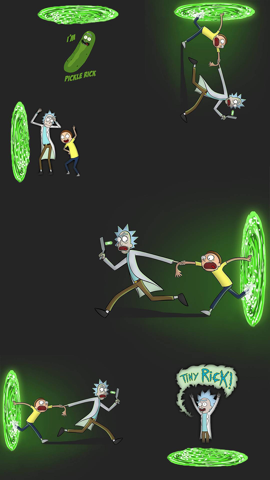 Rick and Morty Lets Go Wallpapers Now Download For Your Device
