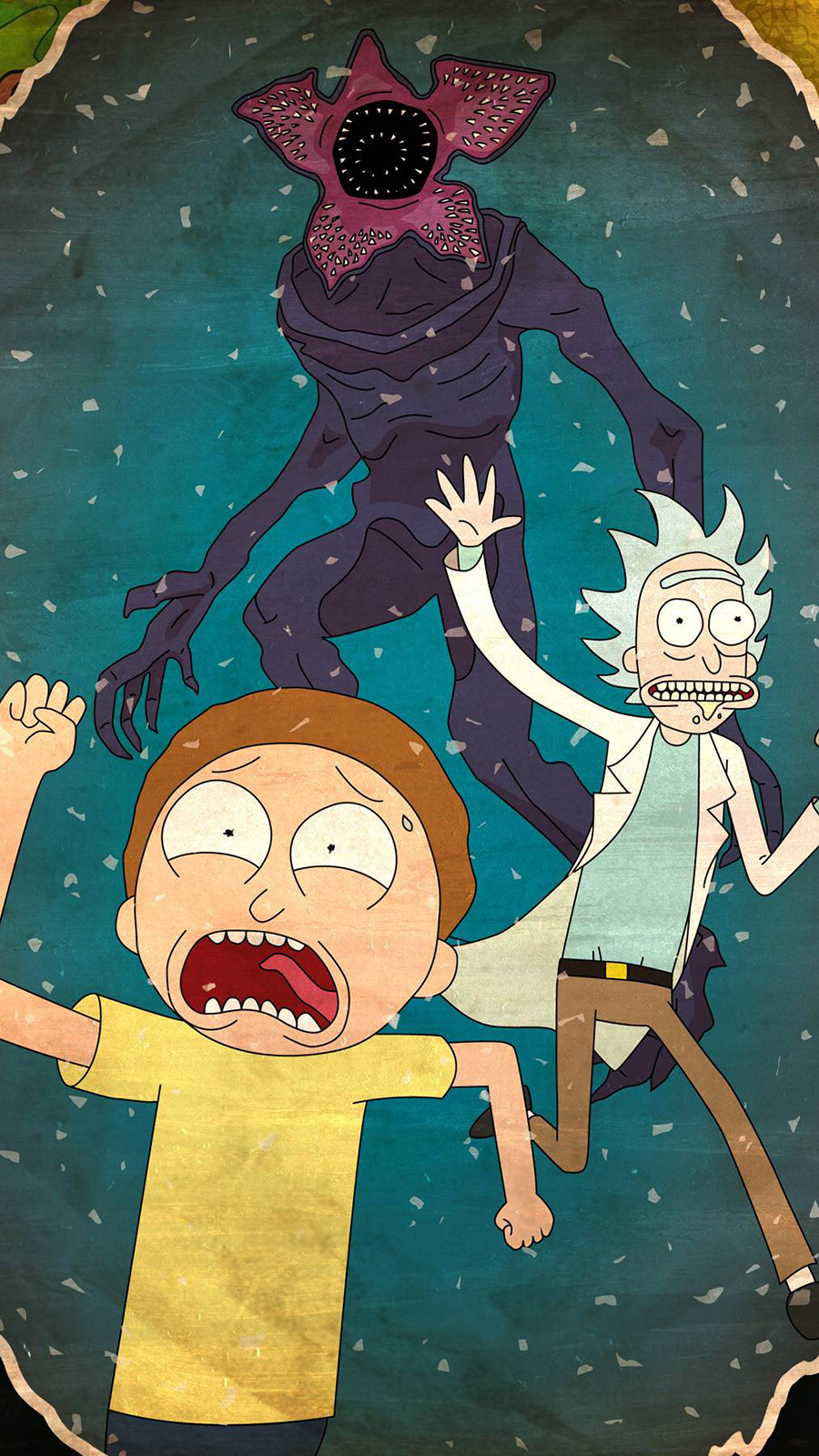 Rick and Morty Run Run Wallpapers Now Download For Your Device