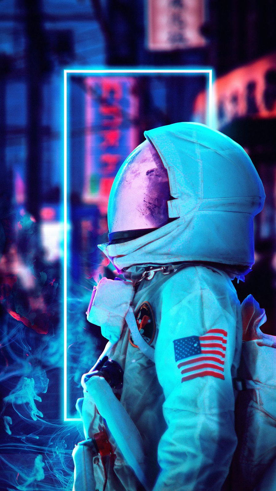 Astronaut Drawing Wallpapers Free Download