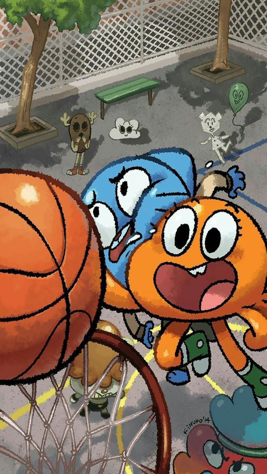 Best Gumball İPhone HD Wallpapers Free Download