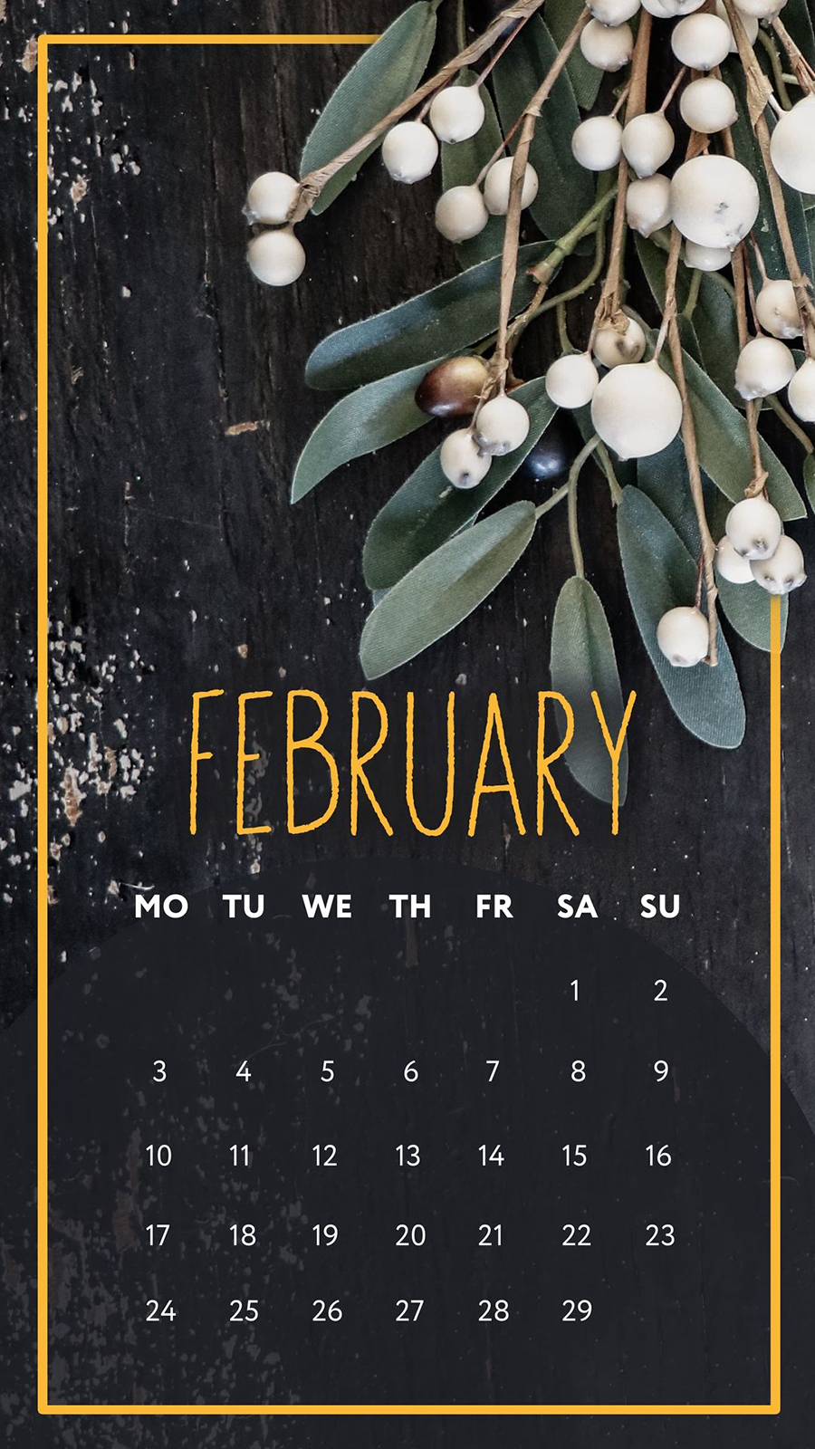 Calendar Wallpapers For Apple Device