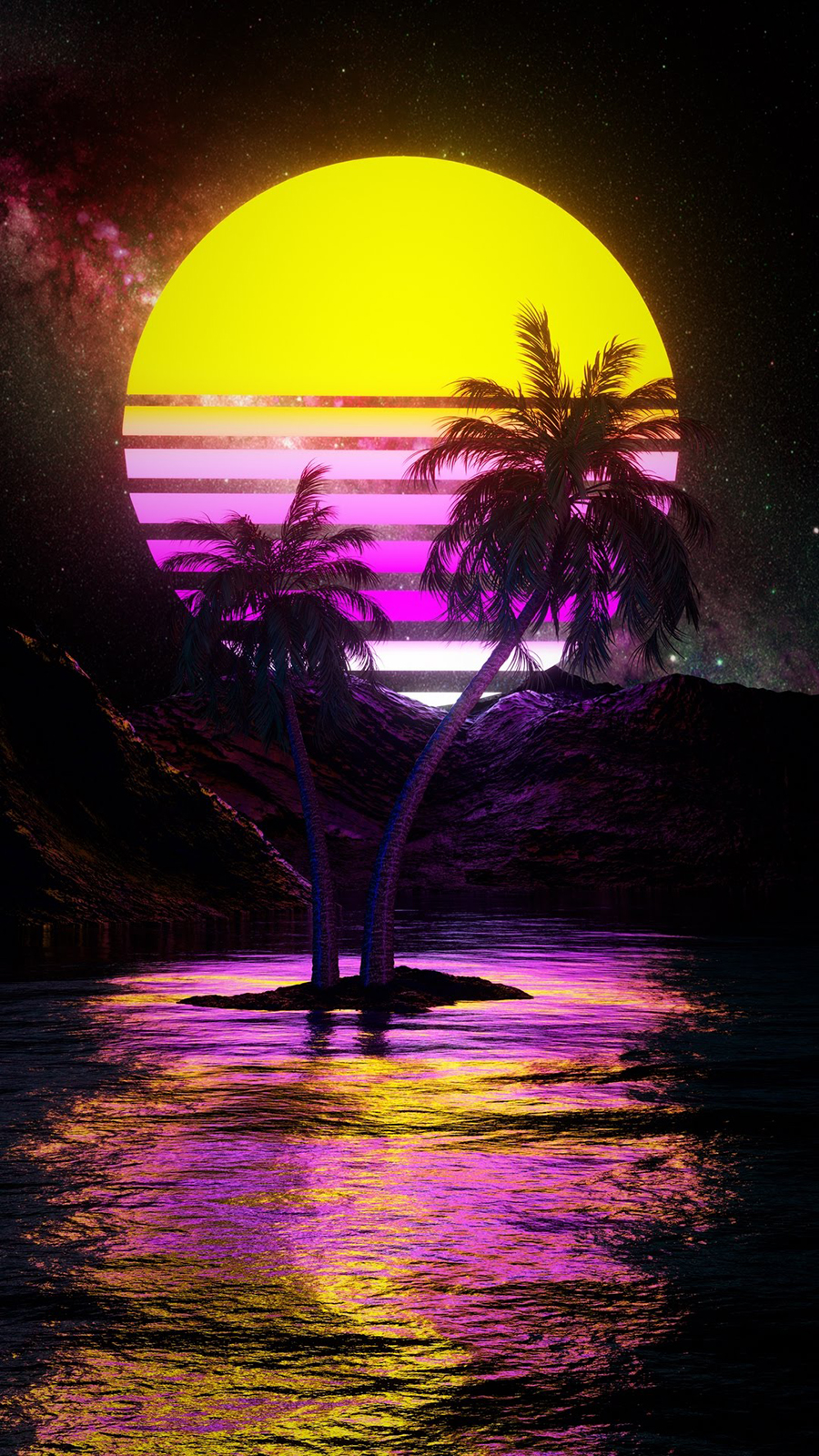 Electro Sunset Wallpapers Free Download