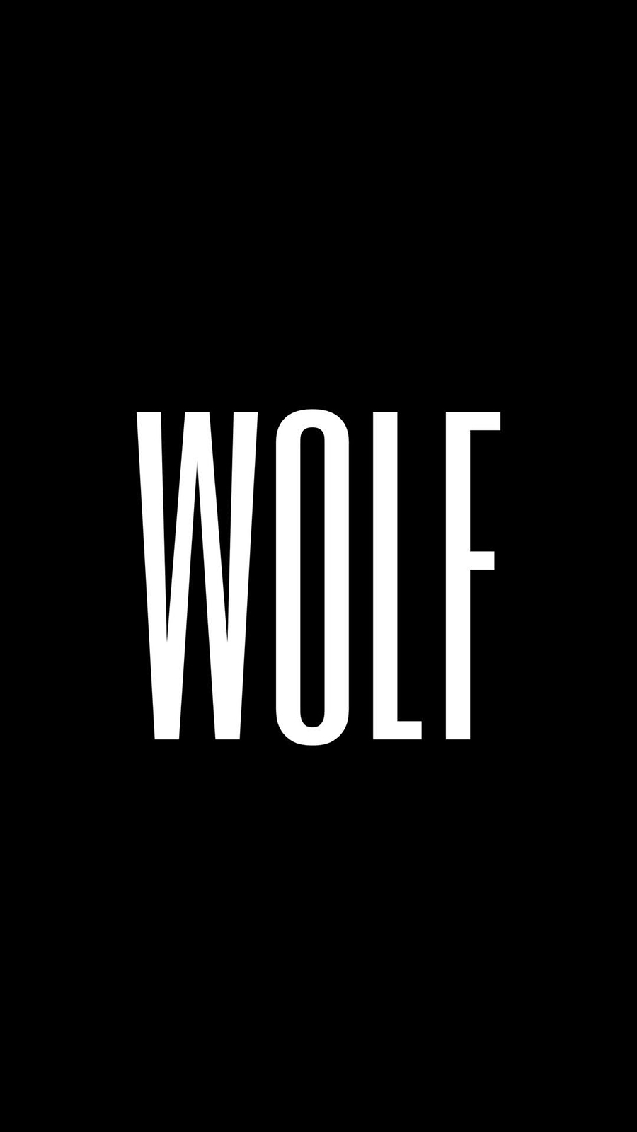 Wolf Minimalism Wallpapers Free Download