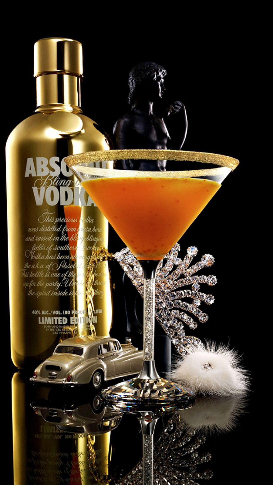 Absolut Vodka Cocktail Party Pack Android Wallpaper