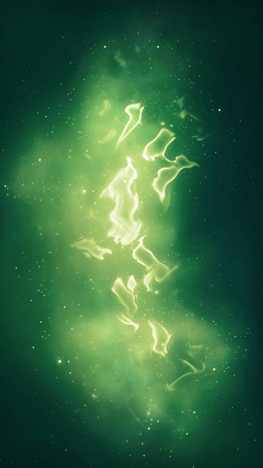 Abstract Green Galaxy HD Wallpapers Free Download