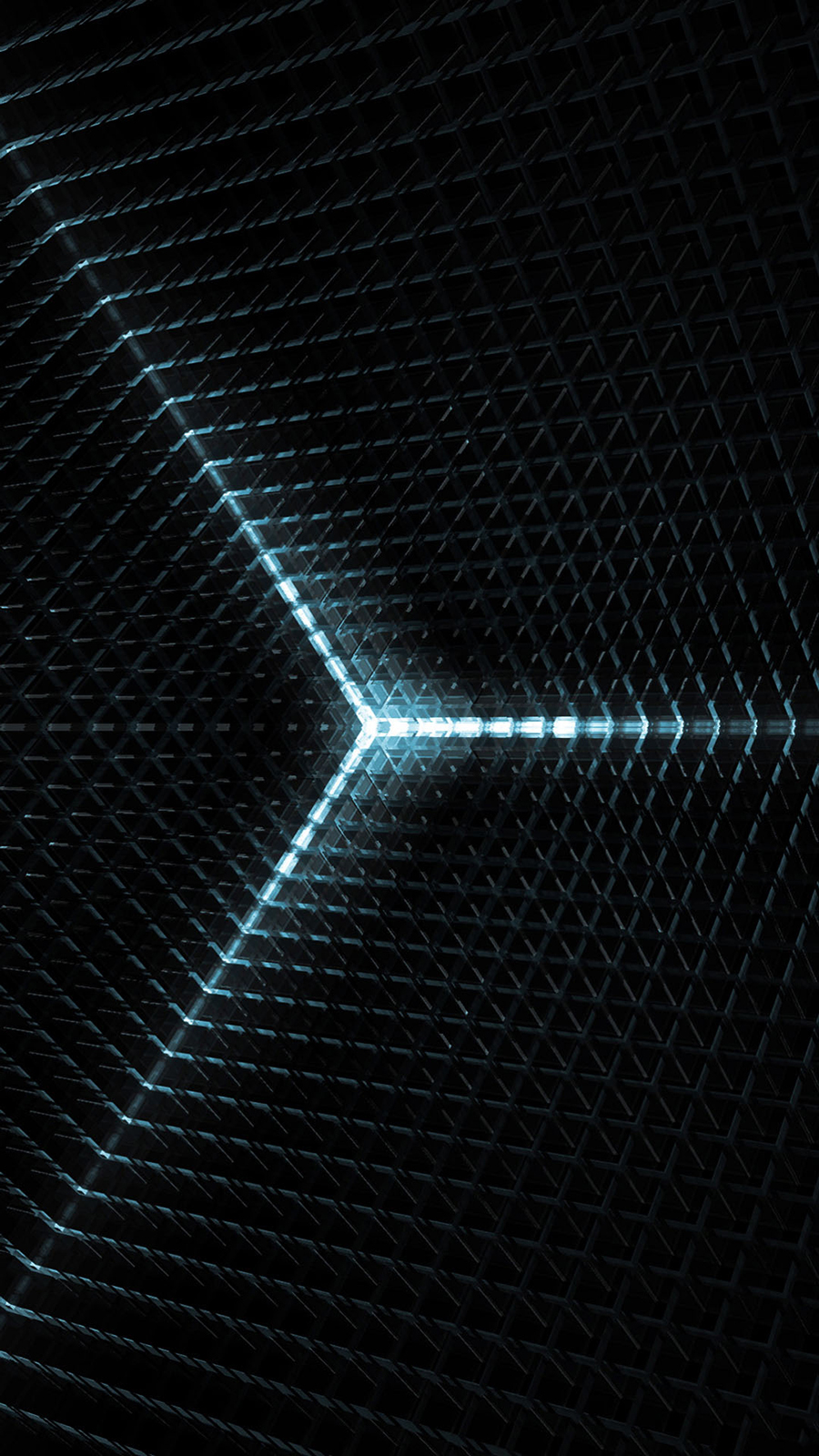 Abstract Spaceship Cube Lights HD Wallpapers Free Download