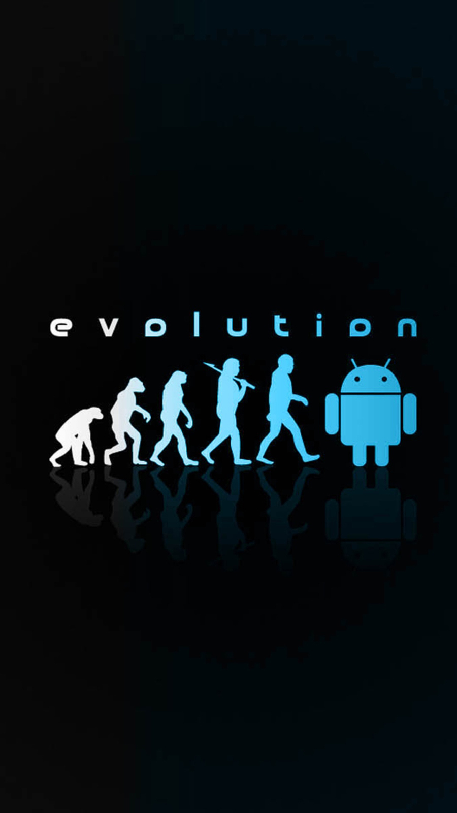 Android Evolution Neon HD Wallpapers Free Download