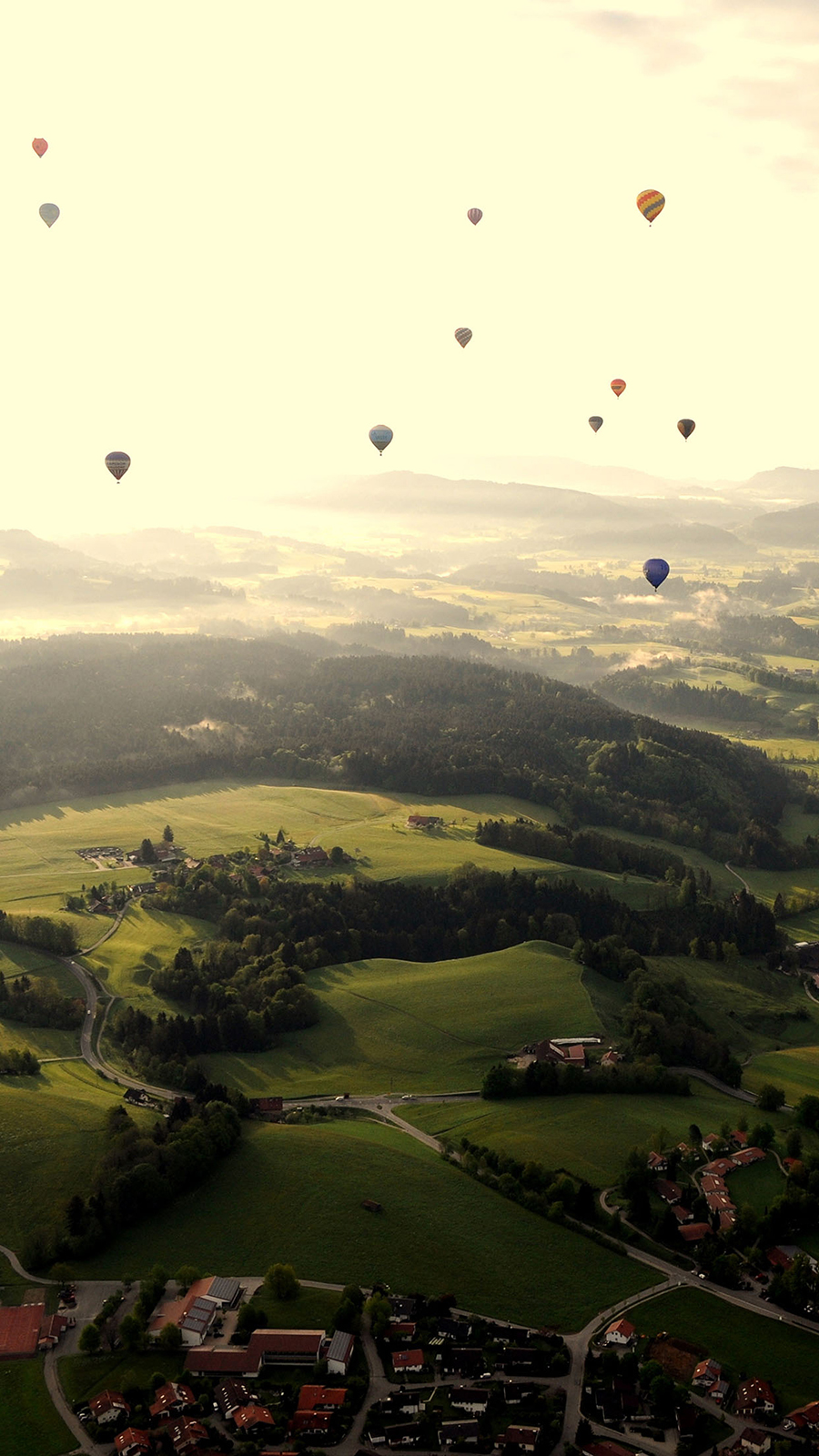 Balloon Party Sky Wallpapers Free Download