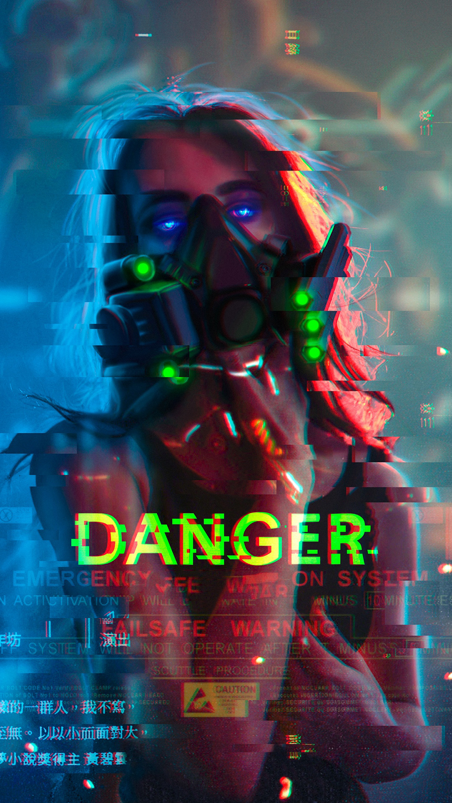 Danger, Electro Girl, Related Wallpapers