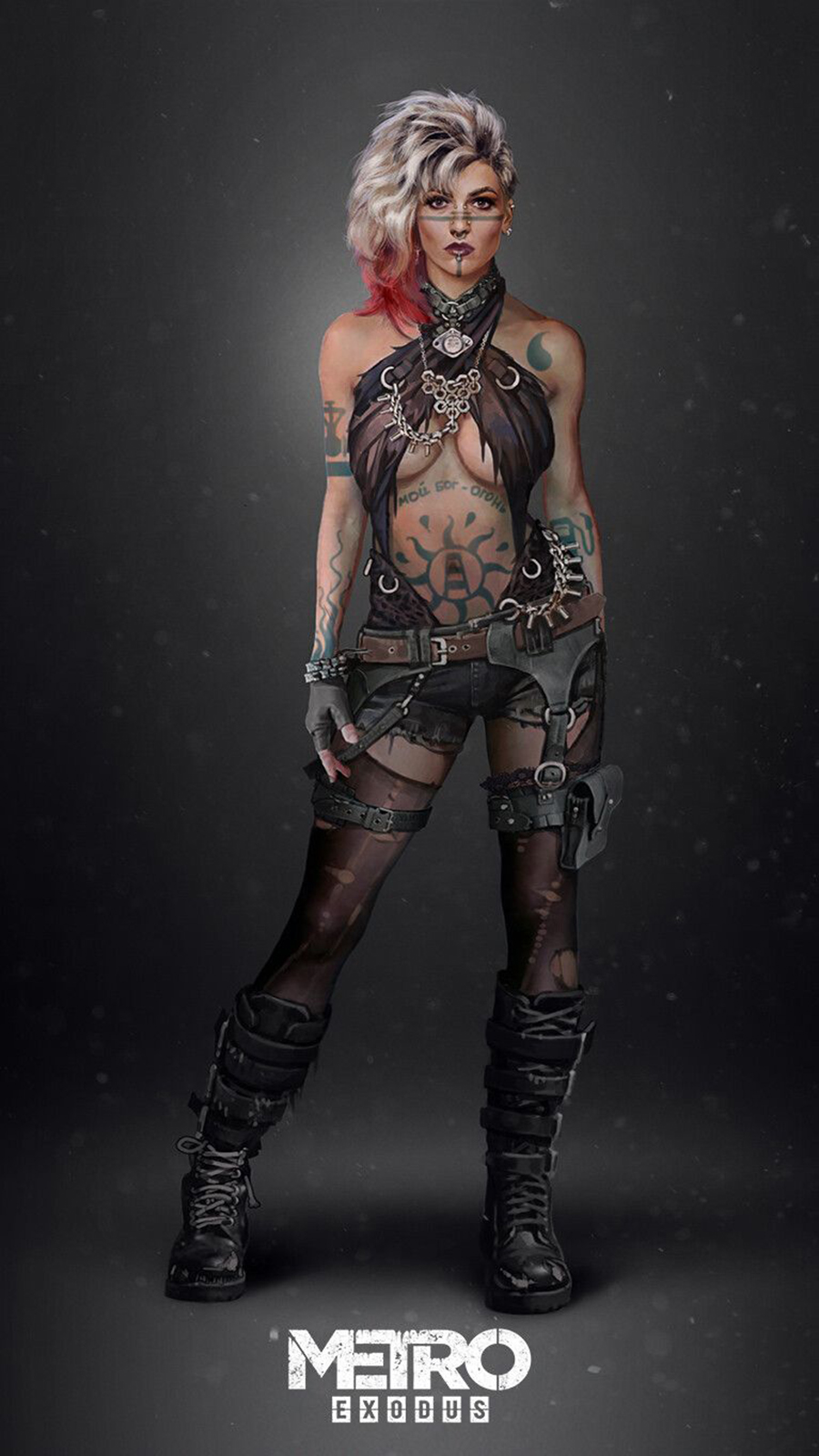 Game Girl Character HD Wallpapers Free Download