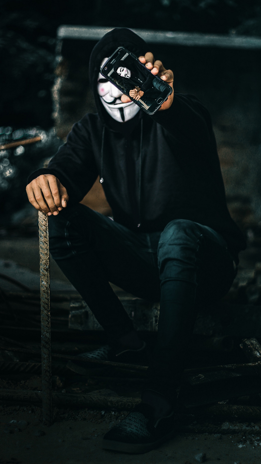 Masked Human Private HD Wallpapers Free Download