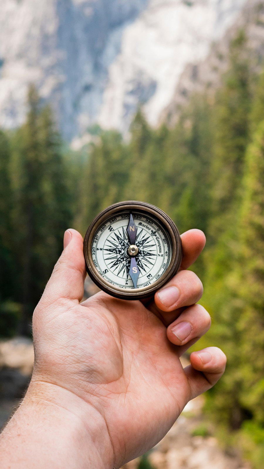 4K Compass, Hand, Direction HD Wallpapers Download