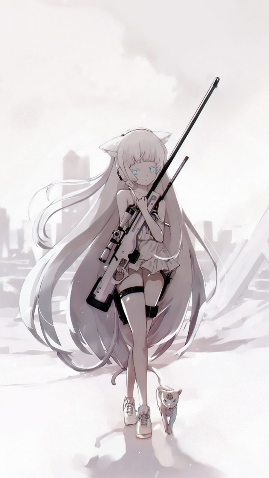 Army Anime Girl HD Wallpapers Download