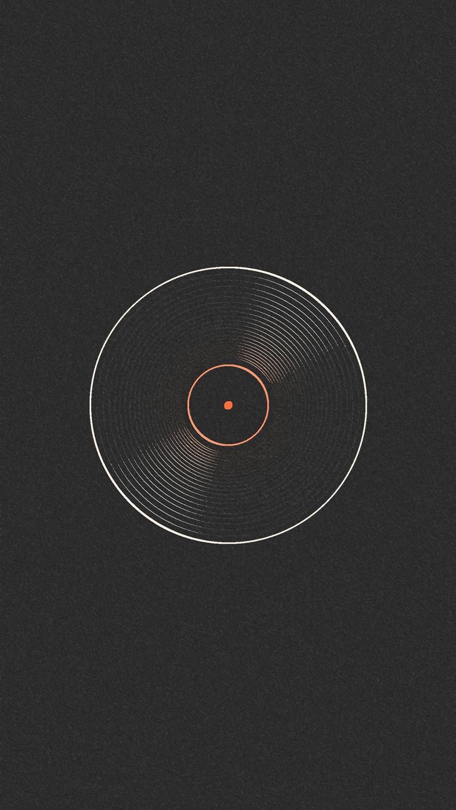 Black Cool DJ Record Wallpapers Free Download