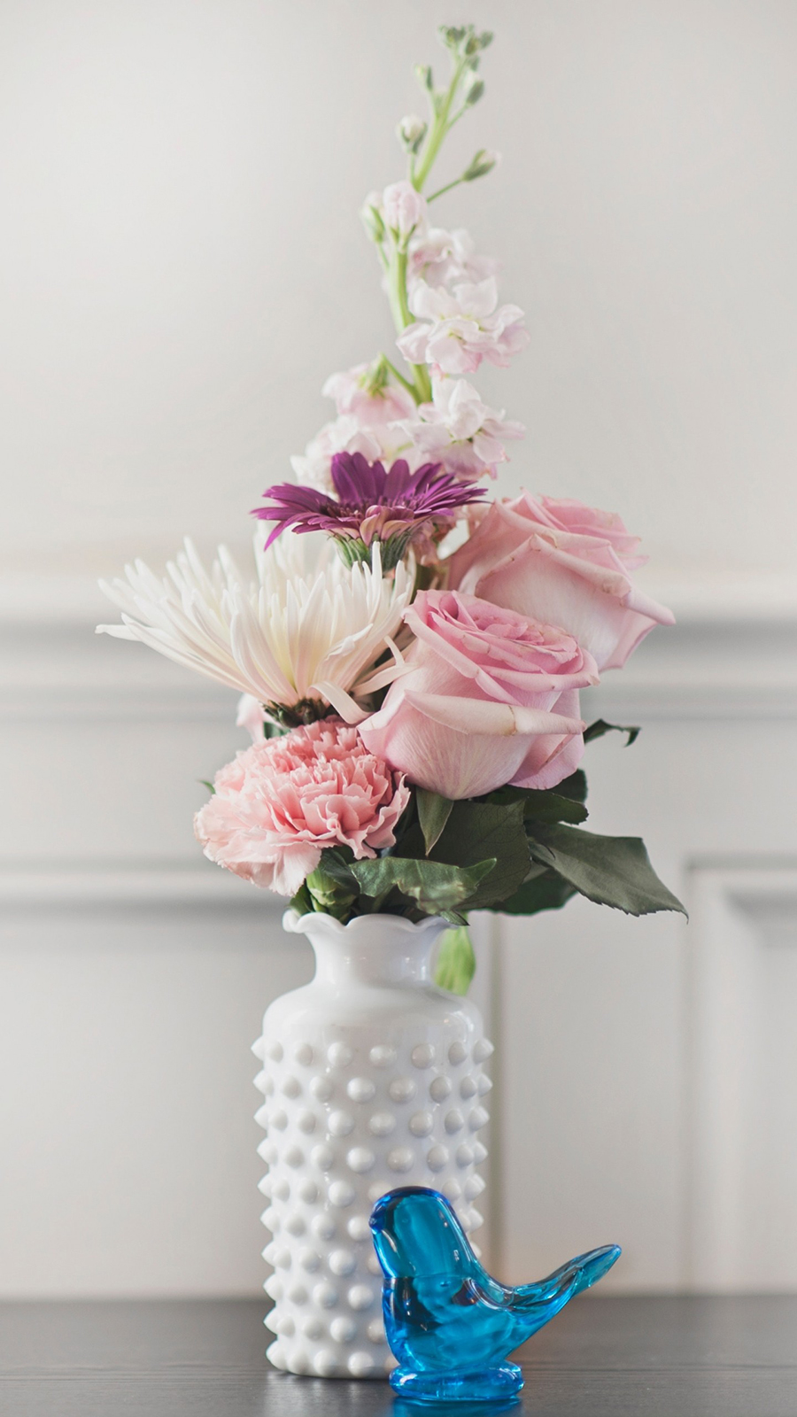 Bouquet Vase Flowers Ultra HD Wallpapers Download