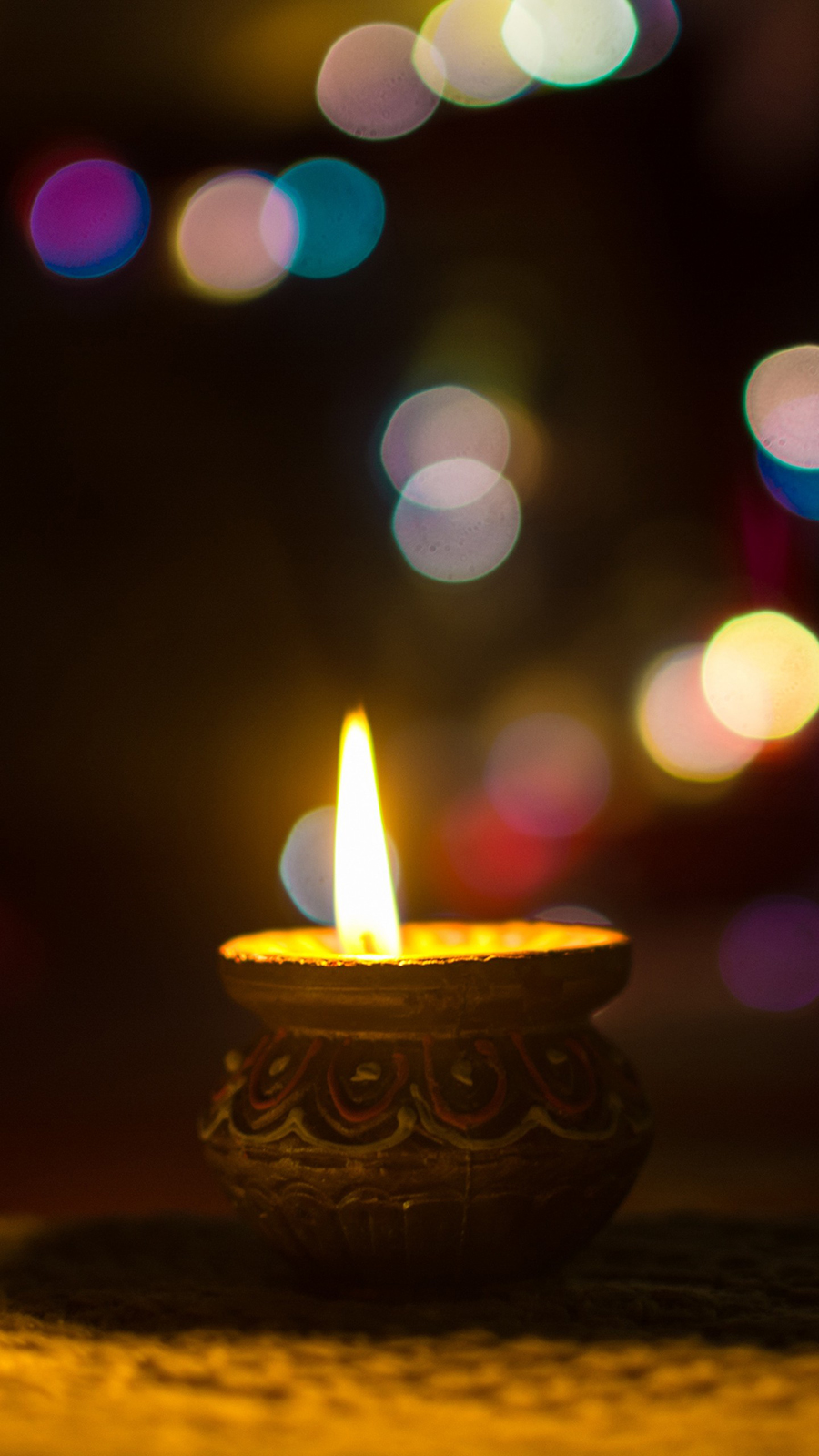 Candle Glare Light Ultra HD Wallpapers Download