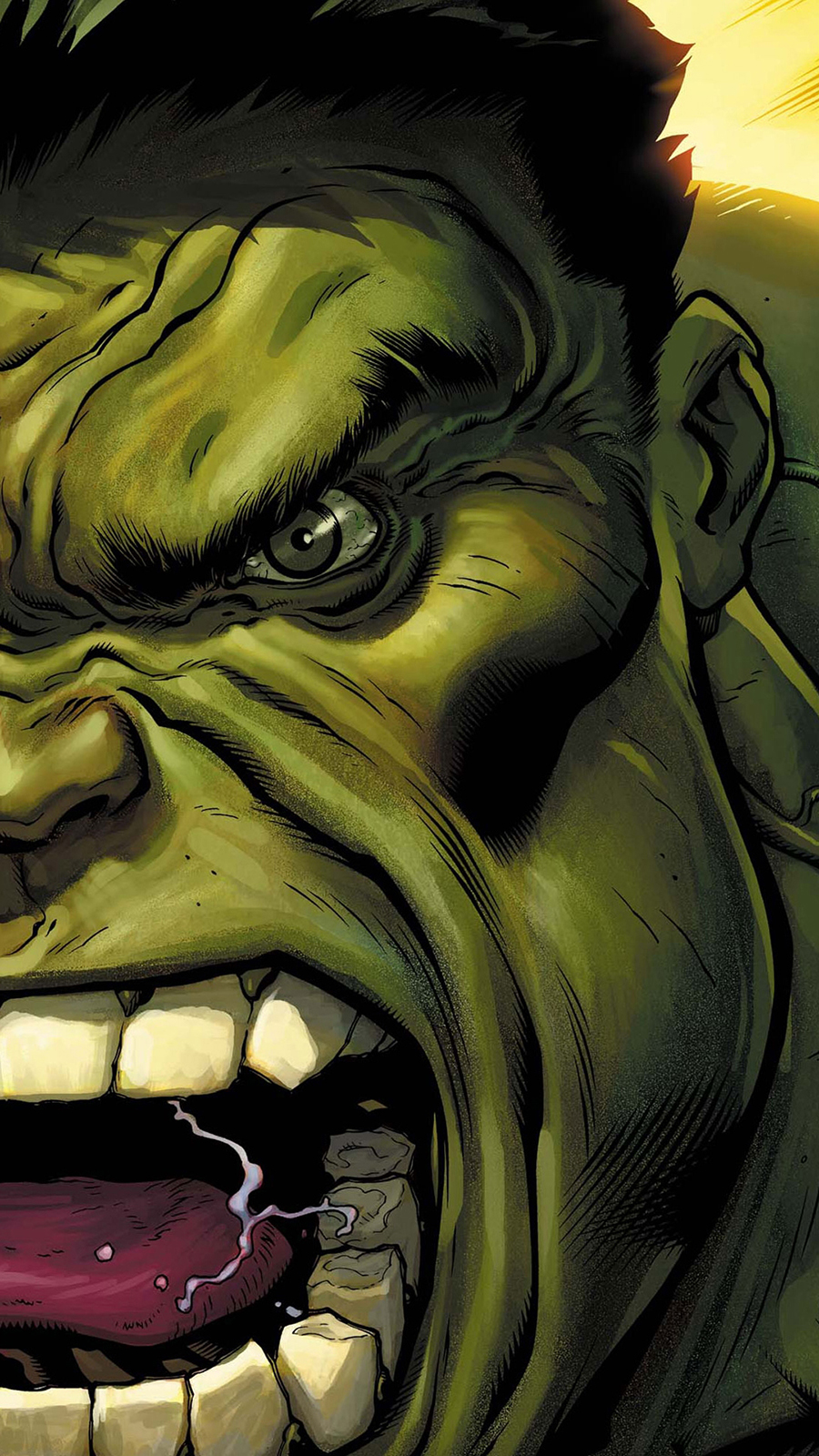 Hulk Character 8K Background Wallpapers