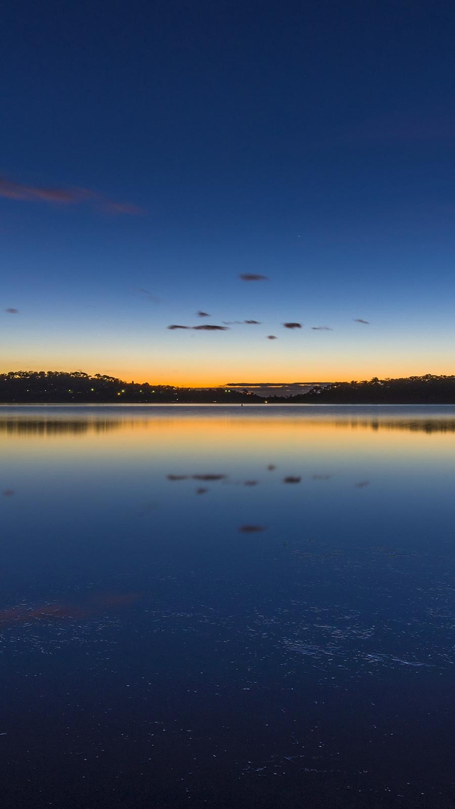 Nature Lake Sunset Landscape Ultra HD Wallpapers Download
