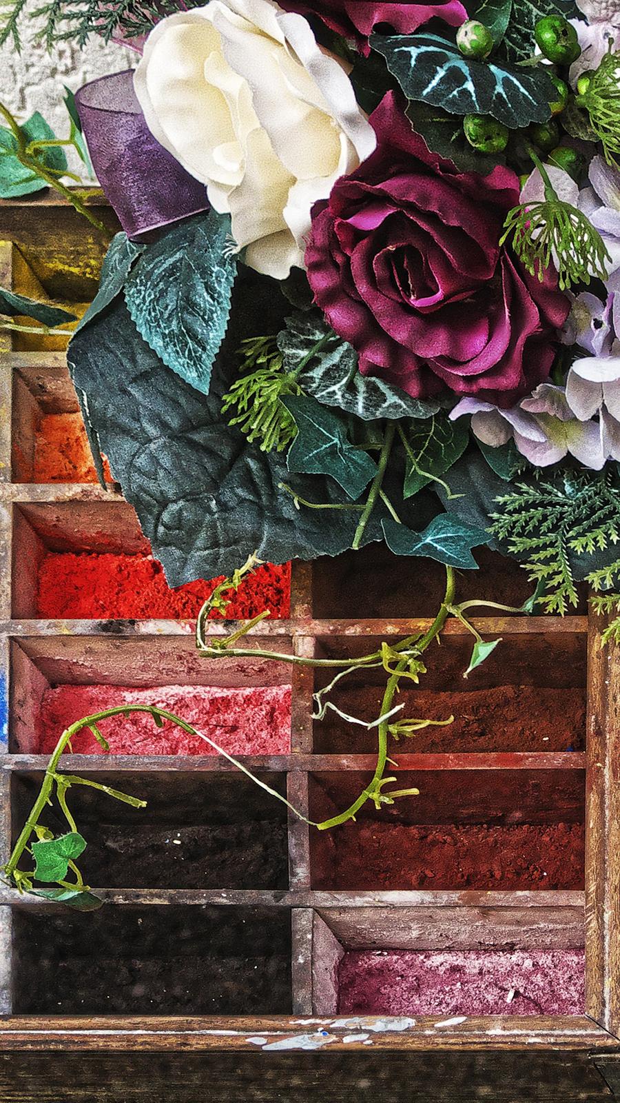 Paints Pigments Bouquet Wallpapers Free Download