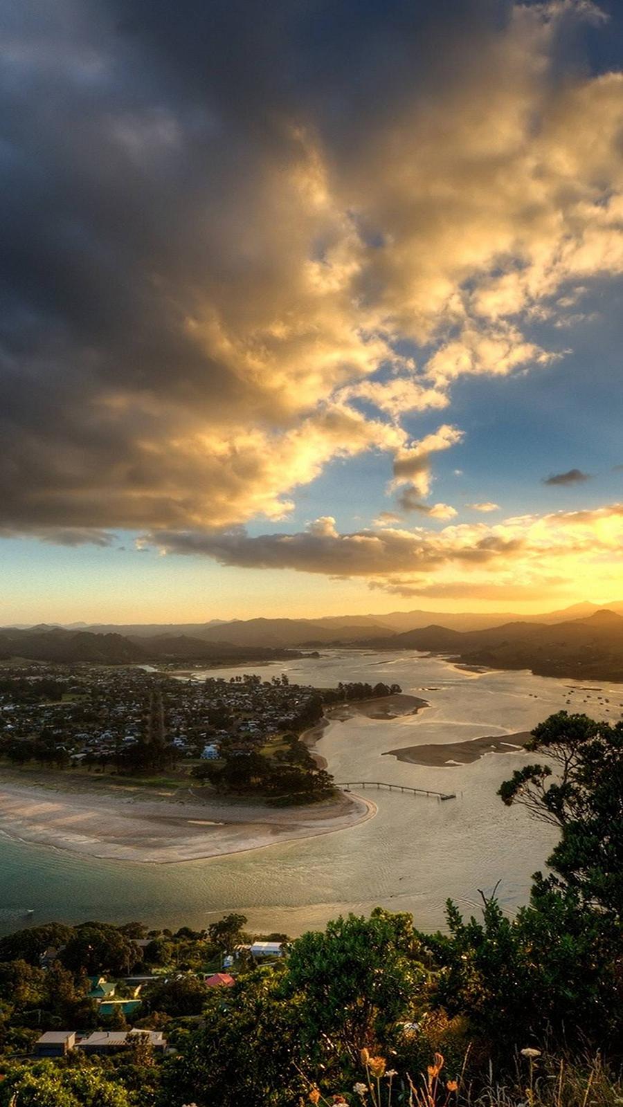 Sky, Decline, Islands Full HD Wallpapers Download