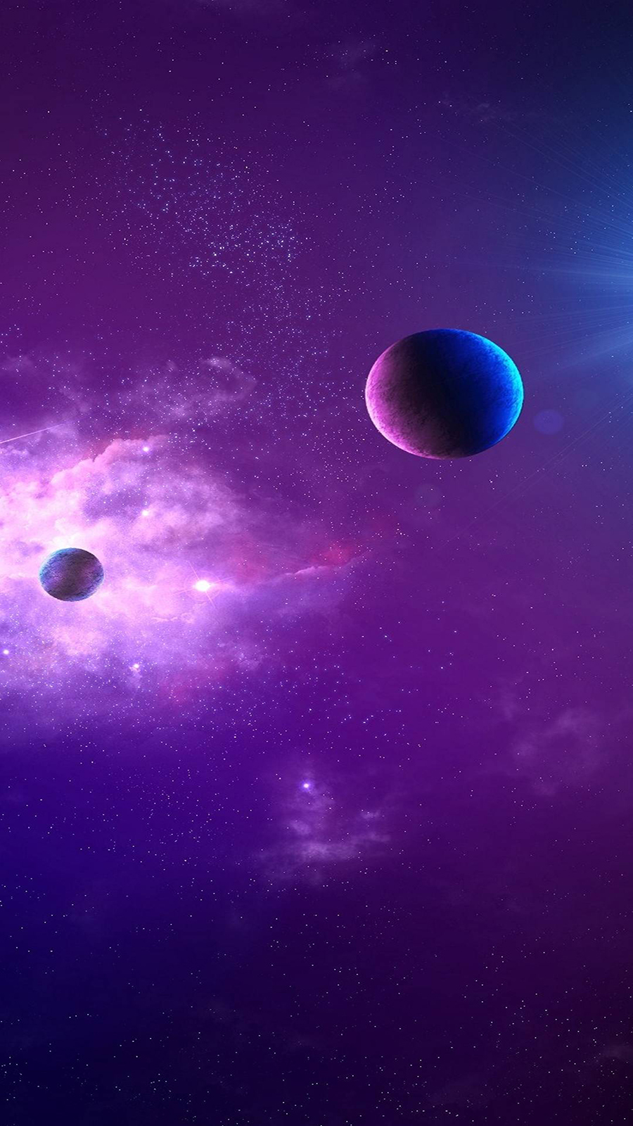 Space Planet Light Ultra HD Wallpapers Download