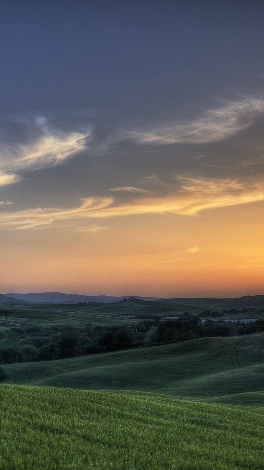 Sun Rising Meadows Ultra HD Wallpapers Download