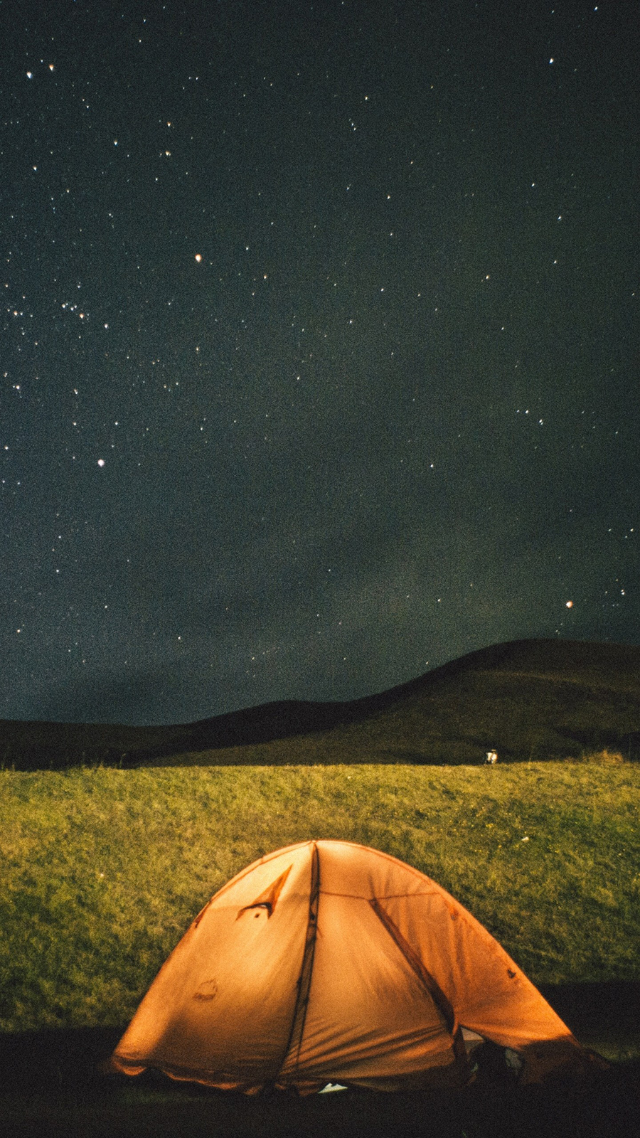 Tent Starry Sky Night Wallpapers Free Download