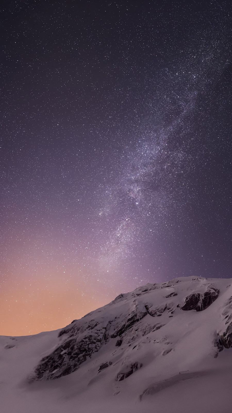 Ultra HD Snow, Mountain, Galaxy Phone Wallpapers Free Download